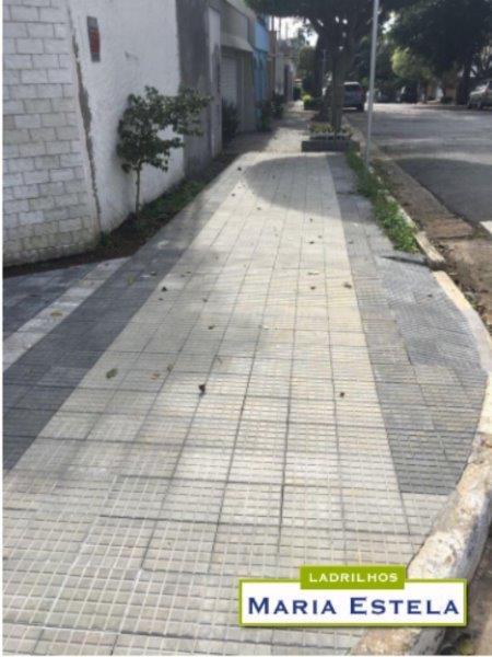 Piso hidráulico para calçada