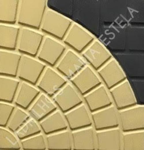 Ladrilho Hidráulico Firenze duas cores 30 x 30cm