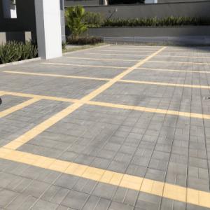 O solo ideal para estacionamentos