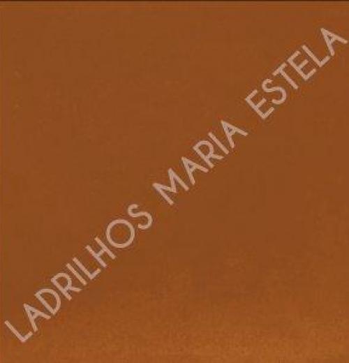 Ladrilho Hidráulico Liso I 20x20x2,0 - marrom
