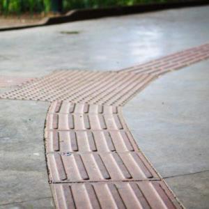 Calçadas com acessibilidade